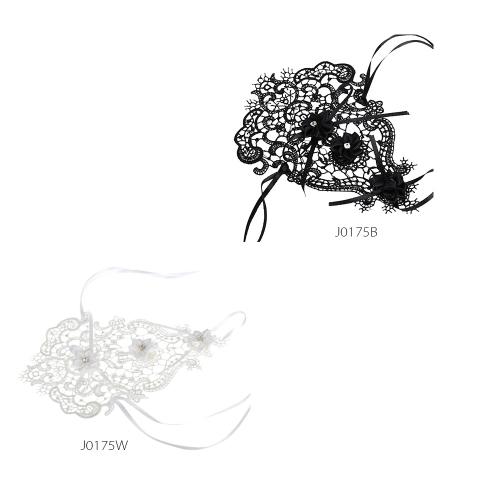 Классический Винтажный стиль Цветок Бант Рейнский камень Полое кружево Готический браслет Украшение для женщин и девушек и подруги невесты на свадьбе