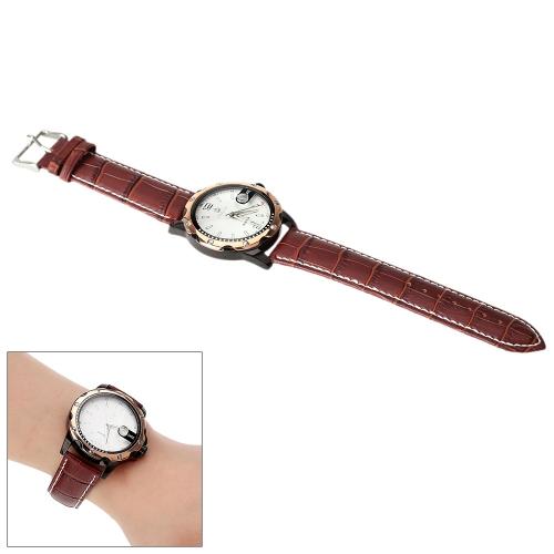 MG· ORKINA lazer estilo relógio de luxo Unisex relógio quartzo analógico resistente à água calendário data