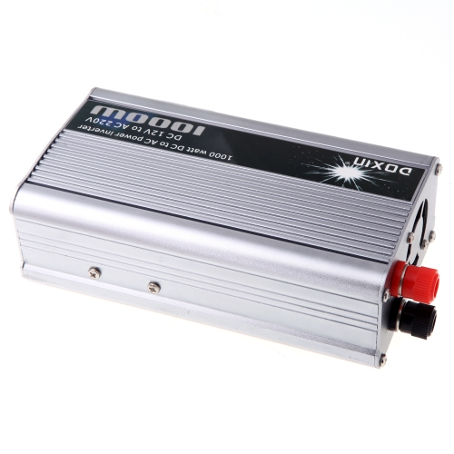 Image of 1000W WATT DC 12V zu AC 220V Tragbar Auto Power Inverter Ladegerät Konverter Transformer