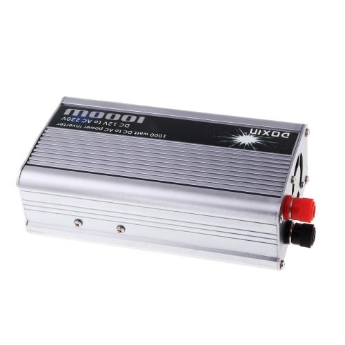 1000W WATT DC 12V do 220V AC Portable Power Inverter Car Charger Converter Transformer