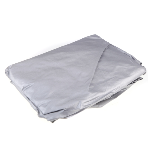 Prevent Heat Cold Sun Rain Snow  Half Car Cover  PVC Coating Cover  Size XL 335 * 150cm