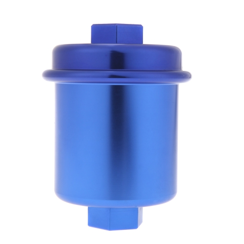 High Flow Fuel Filter Performance Racing for 96-00 Honda Civic Blue