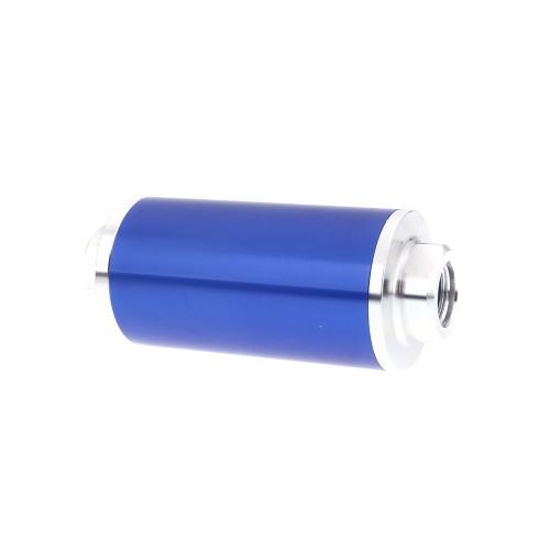 Filtre à carburant universel avec raccords AN6/AN8/AN10 2pcs Total 6pcs raccords noir bleu
