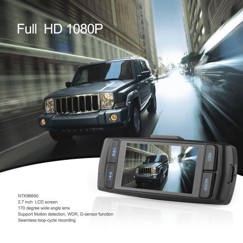 NTK96650 Portable Anytek AT22 Car DVR Recorder Full HD 1080P 30FPS 2.7