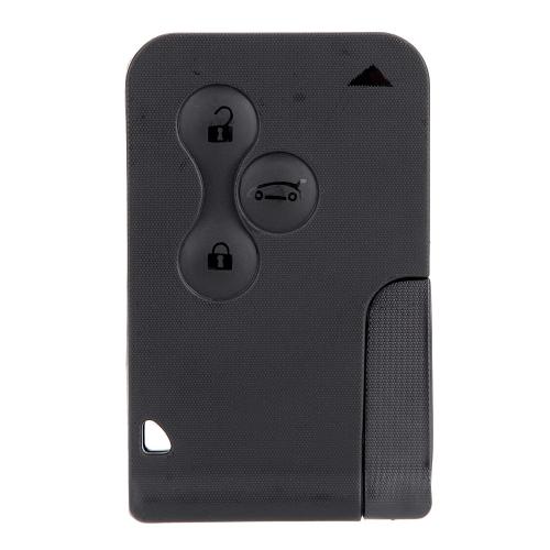 Случай раковины режиссерский удаленный ключ-карта для Renault Megane 3 кнопки + лезвие