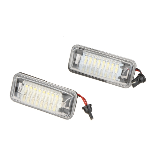 Exact Fit CAN-bus 24 SMD LED License Plate Light Lamps for Scion FRS Subaru BRZ Toyota FT86