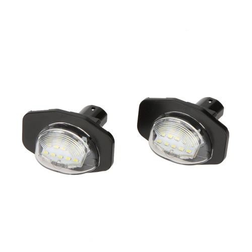 Pair LED License Plate Light Lamp for Toyota Corolla Alphard Auris Scion Sienna