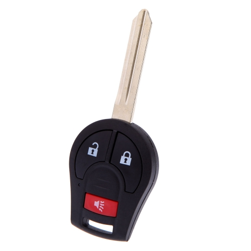 Remote Head Key Keyless Entry Fob Transmitter Fob All in One Uncut Blade  Blank for Nissan