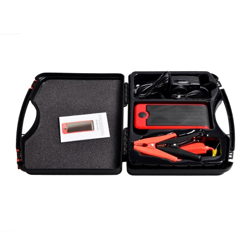 12000mAh 12V Rechargeable Portable Multi-Function Car Jump Starter with LED Light Car Battery  for Gasoline  Car