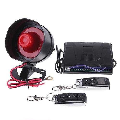 1-Way/2-Way Car Alarm Security System with Remote Control