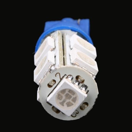 9 5050 SMD LED Car T10 W5W 194 927 161 Side Wedge Light Lamp Bulb Blue