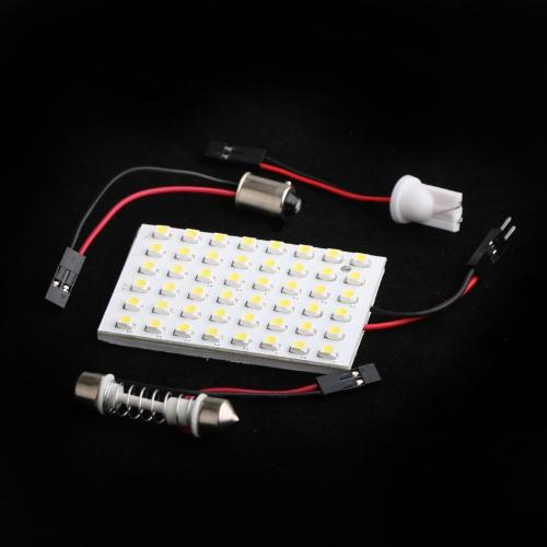 LED Car Light 1210 White + 3 Adapter