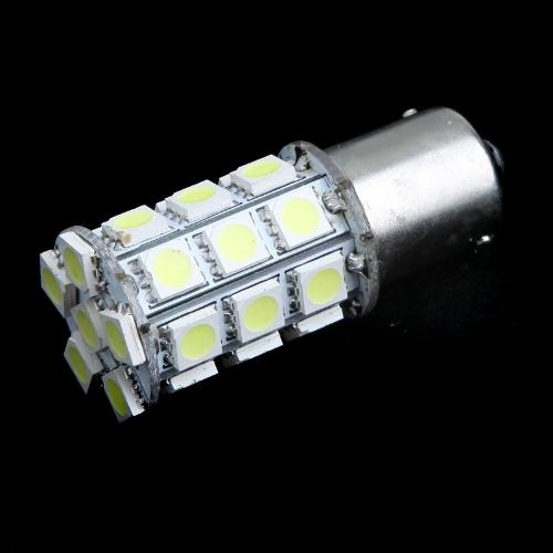 1156 BA15S 27 5050 SMD LED White Turn Tail Brake Stop Light Bulb Lamp