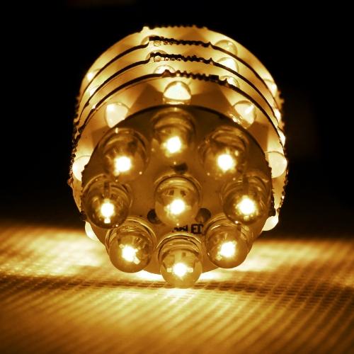 1156 BA15S 45 LED Turn Tail Brake Stop Light Bulb Lamp Yellow
