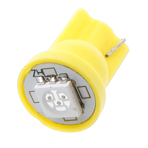 Yellow 1 5050 SMD LED Car T10 168 194 W5W Side Wedge Light Lamp Bulb