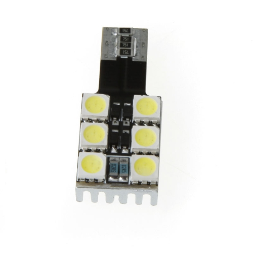 T10 W5W 194 168 6 5050 SMD White Canbus LED Car Side Wedge Light Lamp Bulb