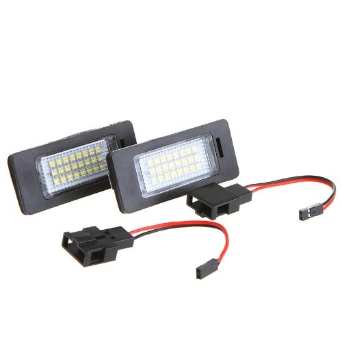 Luz de matrícula LED licencia