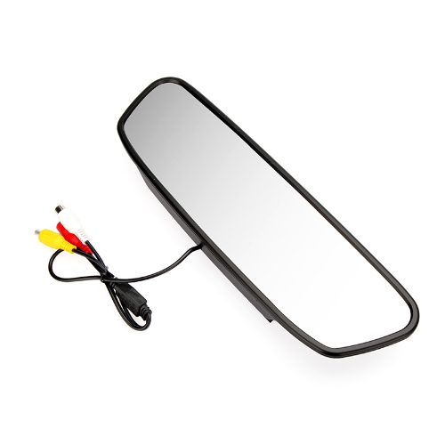5 Inch Digital Color TFT LCD Car Rearview Mirror Reverse Monitor for Camera DVD VCR