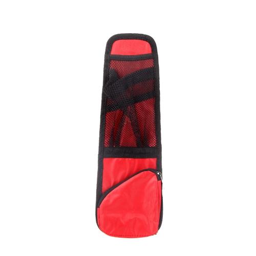 Car Auto Vehicle Seat Side Back Storage Pocket Backseat Organizer Red