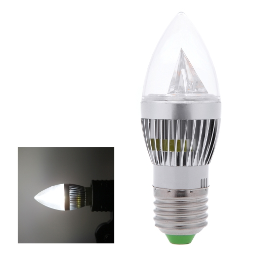 E27 6W LED Candle Light Bulb Chandelier Lamp Spotlight High Power AC85-265V