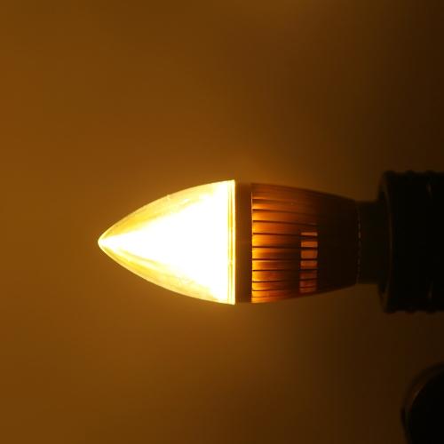 E27 8W LED Candle Light Bulb Chandelier Lamp Spotlight High Power AC85-265V