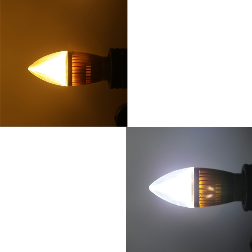 B22 8W LED Candle Light Bulb Chandelier Lamp Spotlight High Power AC85-265V