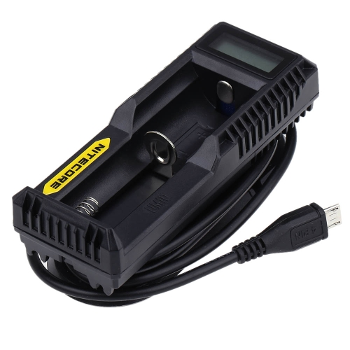 Nitecore UM10 Lithium Battery Charger for 18650 14500 16340 10440 18490 18350 17670 17500 Multifunctional