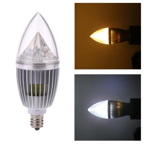 E12 10W LED Candle Light Bulb Chandelier Lamp Spotlight High Power AC85-265V