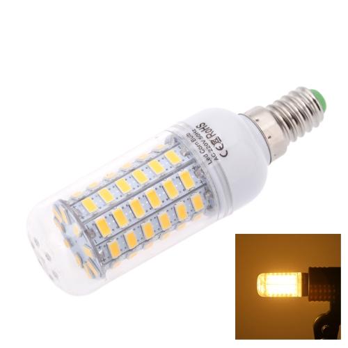 E14 15W 5730 SMD 69 LEDs  Кукуруза Светочки Лампы Лампа Энергосберегающая 360 градусов 200-240В