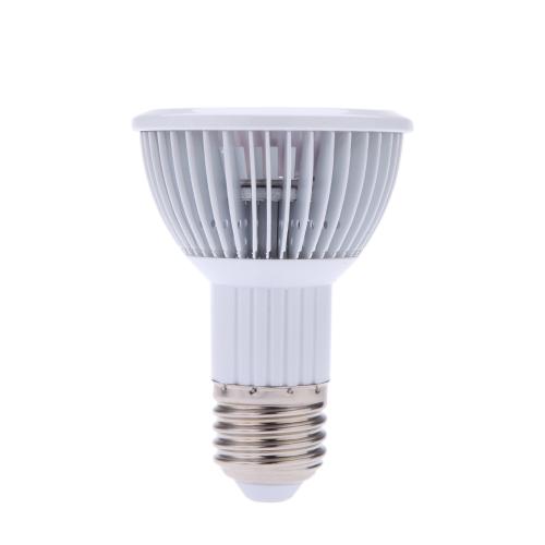 E27 3 * 1W LED crece la luz lámpara bombilla 2Red 1Blue ahorro de energía para flor planta hidroponía sistema interior invernadero vegetal AC85 ~ 265V