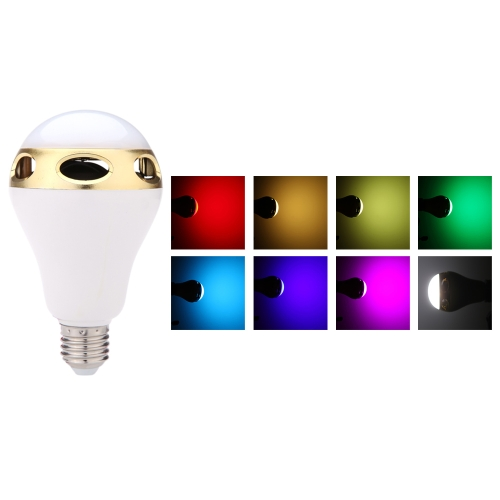 Smartphone Wireless Bluetooth Speaker LED Stage Disco Novelty Lamp 8 Colors  Adjustable Colorful Mood Lighting with Built-In Bluetooth 4.0 Speaker Music Player