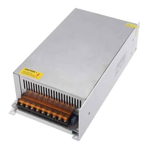 AC 170-250V vers DC 12V 50A 600W Transformateur de Tension Commutateur d'Alimentation pour Bande de LED