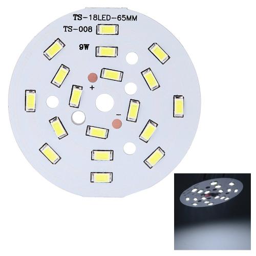 9Вт Круглая 5730 SMD 18 светодиодов Супер Яркая Лампа светодиодного чипа   Лампа DC27-31В