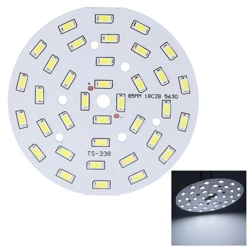 18W Round 5630 SMD 36 LEDs Super Bright LED Chip Light Lamp Bulb  DC 56-62V