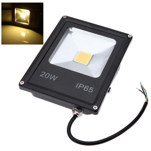 Ультратонких 20W 85-265V прожектор светодиодный прожектор IP65 водонепроницаемый экологическо благоприятный для открытый путь сад двор теплый белый/белый/RGB