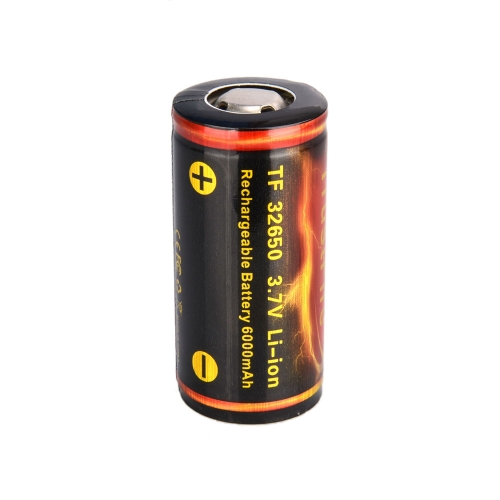 TrustFire 32650 6000mAh 3.7V Rechargeable Lithium Battery with PCB Protected Board