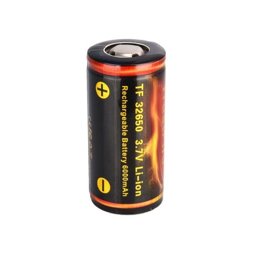TrustFire 32650 6000mAh 3.7V Wiederaufladbare Lithium-Batterie mit PCB geschützten Board