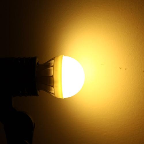 E27 3W 5630 220В 6 светодиодов лампа лампа света супер яркий экономии энергии 180 градусов
