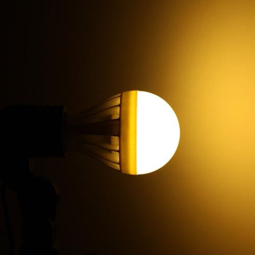 E27 9W 5630 220V 15 светодиодов лампа лампа света супер яркий экономии энергии 180 градусов