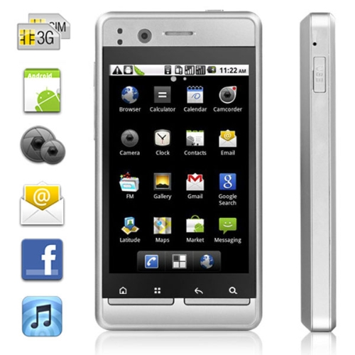 Android 2.2 WCDMA 3G Smartphone 3.5
