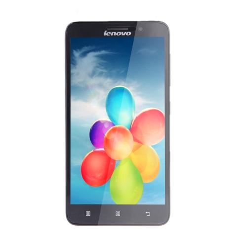 Lenovo A850 + SmartPhone MT6592V Octa Core telefone 5,5 ' capacitiva Touchscreen Android 4.2 1GB 4GB WCDMA 3G 5.0 MP câmera preto