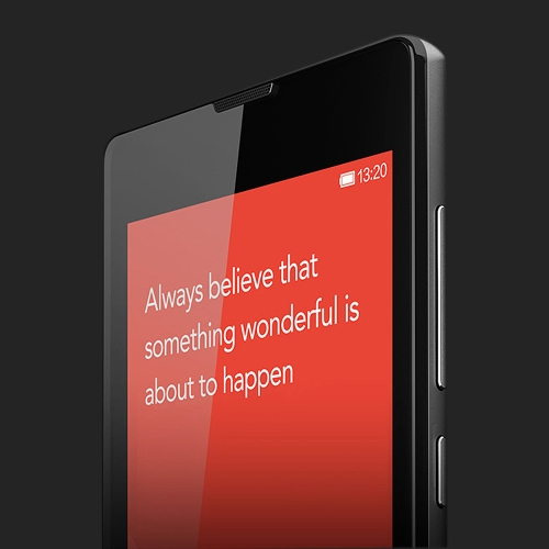 Xiaomi Redmi 1S Smart Phone Android MIUI V5 Snapdragon400 MSM8228 Quad Core 4.7