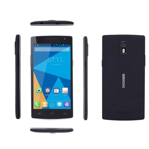 DOOGEE KISSME DG580 スマート フォン Android 4.4 MTK6582 クアッドコア 5.5