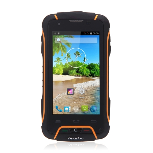 "Huadoo V3 IP68 Waterproof Smart Phone Dustproof Shockproof Rugged Outdoor Android 4.4 MTK6582 Quad Core 4"" 1GB RAM 8GB ROM 1.3MP 8MP Dual Cameras"