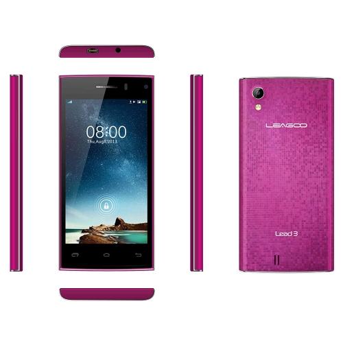LEAGOO Lead 3 Smart Phone Android 4.4 MTK6582 Quad Core 4.5