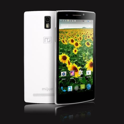 MIJUE M580 スマート フォン Android4.4 MT6582m クアッドコア 5.5
