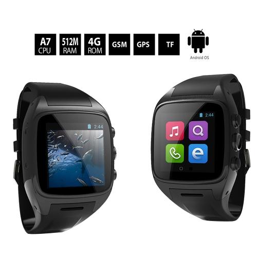 Z004 3G Смарт часы-телефон Android 4.4, MTK6572 двухъядерный, 1.6