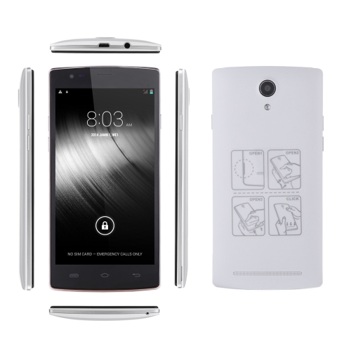 MIJUE L100 4G FDD-LTE TDD-LTE Smart Phone Android4.4 MT6582M + MT6290 Quad-Core 5,5