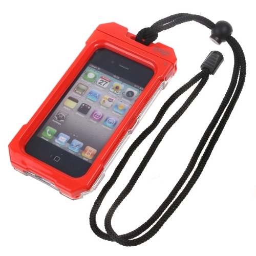 KKmoon 防水ケース 防水防塵ウェアラブル iPhone 4G【並行輸入品】