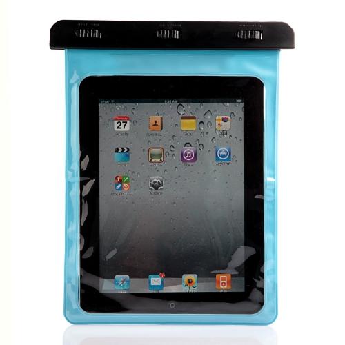 Underwater Tablet Waterproof Case Dry Bag for iPad/iPad 2 Blue